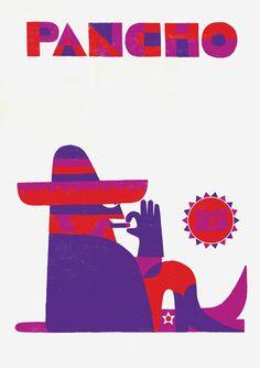 Pancho Villa. Illustration by Adrian Johnson