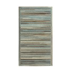 Cane Cross Sewn Rectangle Made to Order Braided Rug Tan/Mixed (20 x 30)