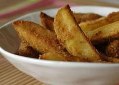 "Potatoes wedges by ""c'est moi qui l'ai fait"" Doritos, Salsa Barbacoa, Spanish Tapas, Potato Wedges, French Toast, Cooking, Breakfast, Week End, Side Dishes"