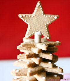 Gingerbread Christmas Tree.   - TownandCountryMag.com