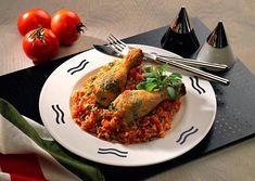 Unser beliebtes Rezept für Salbei-Hähnchenunterkeulen auf Tomatenrisotto und mehr als 55.000 weitere kostenlose Rezepte auf LECKER.de.
