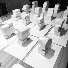 mass study - Google 검색 Duplex Design, Archi Design, Architecture Design, Architecture Models, Presentation Techniques, Plaster Sculpture, Arch Model, Concrete Design, Design Model