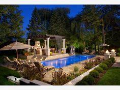 Backyard Living Room, Backyard Landscaping - Home and Garden Design Ideas