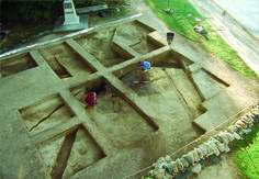 Here are some of the images I've been looking at while compiling a list of milestone discoveries archaeologists have made at Jamestown: http://bit.ly/1MrDB8w -- Mark St. John Erickson