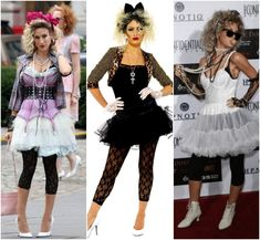 costume Speak That I Hear You – Party # Speak That I Have … - shachast. 80s Costume, 80s Party Costumes, 80s Halloween Costumes, 80s Theme Party Outfits, 80s Party Outfits, Dance Outfits, Madonna 80s Outfit, Madonna 80s Fashion, Madonna Costume