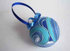 Pretty kimekomi ornaments