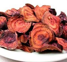 Crispy Baked Beet Chips