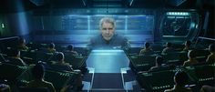"""Courtesy Summit Entertainment/MCT Back in orbit: Harrison Ford leads a cast of young'uns in the sci-fi flick """"Ender's Game."""""""