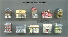 Feves-LES-MAISONS-DE-CARACTERES-10-Sujets-Porcelaine-3-cm-environ-ND