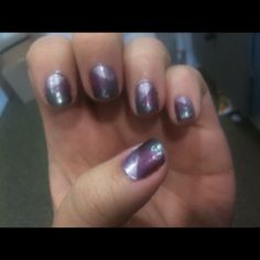My nails! Not perfect but I love thanks Chloe! http://chloesnails.blogspot.com/2010/11/patchwork-mani-tutorial.html