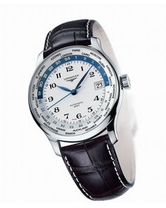 #Watches The #Longines Master Collection - #GMT (38.50 mm)