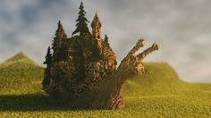 Karaalia - the fossilized snail Minecraft Project