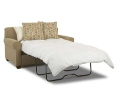 Mayhew Twin Sleeper Love Seat by Klaussner | Wolf Furniture