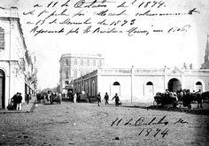 Antigo Mercado Municipal de Curitiba - 1874