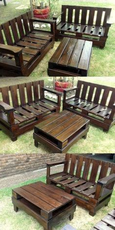 Ineffable Chest of Drawers from Wooden Pallets Ideas. Prodigious Chest of Drawers from Wooden Pallets Ideas. Diy Projects Outdoor Furniture, Pallet Garden Furniture, Wooden Pallet Projects, Pallet Ideas, Diy Furniture, Garden Pallet, Furniture Repair, Pallet Wood, Rustic Furniture