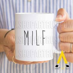 Christmas Gift For Girl Best Friend Funny Coffee Mug Her MILF Wedding Anniversary Wife Birthday Gifts Secret MU675