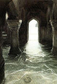 Cantref y Gwaelod by Alan Lee Alan Lee, Alchemy Art, Celtic Culture, Peter Paul Rubens, Wayne Thiebaud, Principles Of Art, Auguste Rodin, Albrecht Durer, Male Figure