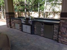 EVO Custom Outdoor Kitchen  Sunset Outdoor Living, LLC