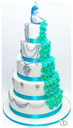 Peacock cake  - Cake by Sobi Thiru