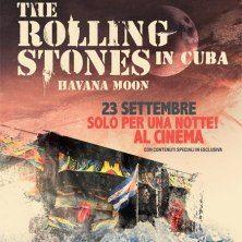 Quel giorno i Rolling Stones sono diventati il primo gruppo rock ad esibirsi in un gigantesco concerto gratuito davanti a centinaia di migliai di persone all'avana, Cuba. Lo storico concerto è stato firmato dal pluripremiato regista Paul Dugdale: il risultato è un film imperdibile che verrà proposto solo per una notte nei cinema del mondo il prossimo 23 settembre: The Rolling Stones. Havana Moon in Cuba.