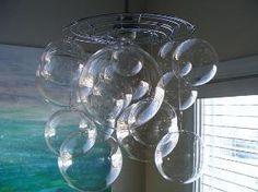 Bubble Ball Chandelier Light Fixture by rachelsstudio on Etsy