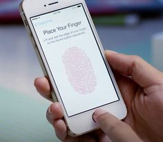 Biometrics! Yah! Touch ID unlocks the iPhone 5S with YOUR FINGERPRINT. Crazy.