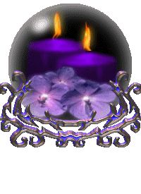 CANDLE GLOBE GIF Purple Candles, Glitter Candles, Purple Love, All Things Purple, Beautiful Candles, Best Candles, Glitter Gif, Candle Lanterns, Candle Pics