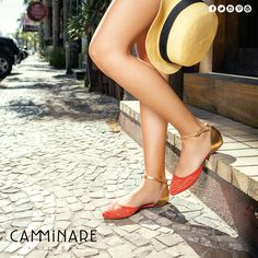 Essa flat super linda da Camminare foi feita para você usar e arrasar todos os dias! ❤️ #camminare #shoes #love #moda #mulheres #fashion #streetstyle #style #bestfriends #flat