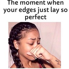 Yasss!!!! #hairline #hair #edges #naturalhairline #girls #girlsproblem #truth #fact #yas