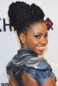 Just when we thought Teyonah couldn't be anymore fabulous, her hairstyles dominated Short Hairstyles 2015, Medium Bob Hairstyles, Trending Hairstyles, African Hairstyles, Protective Hairstyles, Afro Hairstyles, Celebrity Hairstyles, Black Hairstyles, Casual Hairstyles