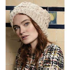 Mustard Hat in Rowan Big Wool