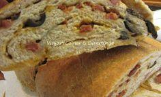 Viajar, Comer & Divertir-se: Pão Integral com Chouriço, Azeitonas e Queijo