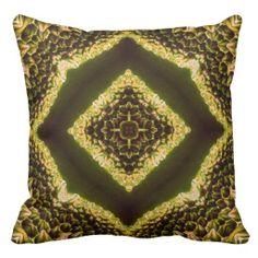 Honeycomb Mandala Pillow