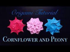 Origami Sakura Star by Ali Bahmani ★ Paper Kawaii - YouTube
