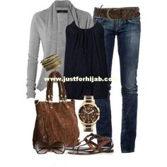 Casual fall outfits for women   Just For HijabJust For Hijab