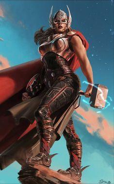 Lady Thor (Jane Foster) by John Staub