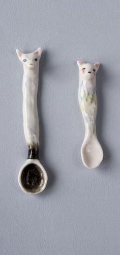 """the fox"" spoons"