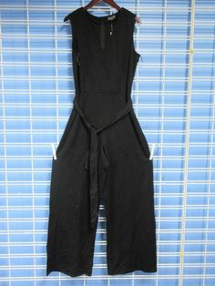 0992dc6de05 Women s The Limited Tank Top Full Body Jumpsuit Large Black Solid  fashion   clothing