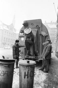 https://flic.kr/p/k7xyTj | Zittau in der DDR | Müllabfuhr in der DDR
