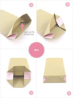 Make your own Gift bags...can never find this when I want it-now its on my Pintrest board!