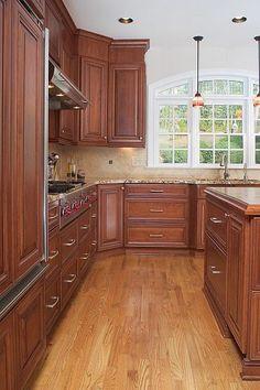 KITCHEN – Custom Georgia Kitchen Designed For A Chef
