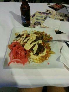 Tajadas at Honduras Kitchen LA