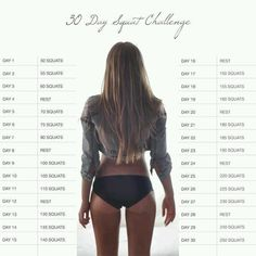 30 day squat workout started off with 100 yst ... Every day adding ten.. I love it :) #ass& #legs