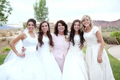 Utah Family's 4 Children All Get Married in One Big Shared Wedding