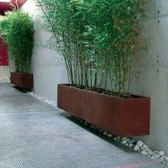 """adamchristopherdesign: """"Floating corten planter # Floating These gardens are not trampled only notwithstanding these lawns after the grounds at the same time as domestic games, however can also be assured place Back Gardens, Small Gardens, Outdoor Gardens, Modern Landscaping, Backyard Landscaping, Ideas Para Decorar Jardines, Garden Features, Garden Spaces, Garden Planters"""