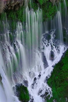 Amazing Waterfalls in USA - Burney Falls- Eighth Wonder of the World-USA