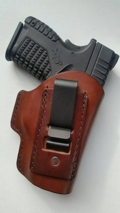 1911 Holster, Gun Holster, Leather Keyring, Leather Holster, Xds 9mm, Concealed Carry Holsters, M&p Shield, Leather Dye, Spring Steel