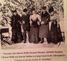 Mrs.  Markoe,  JP, and friends.