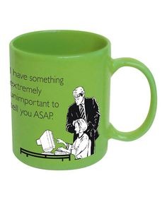 Look what I found on #zulily! Someecards 'Something Unimportant' Mug by ICUP Inc. #zulilyfinds