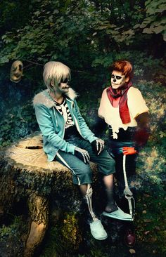 Sans as Megumi-Nightwack Papyrus as me Gaster as Jul Photo Become-one-with-me Sans Papyrus and Gaster - UNDERTALE Undertale Undertale, Undertale Cosplay, Amazing Cosplay, Best Cosplay, Cosplay Outfits, Cosplay Costumes, Papyrus Cosplay, Sans Cosplay, Cool Costumes